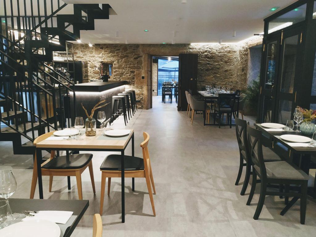 O Xardín de Anceis - Interior Comedor 03 - Restaurante Cambre Coruña