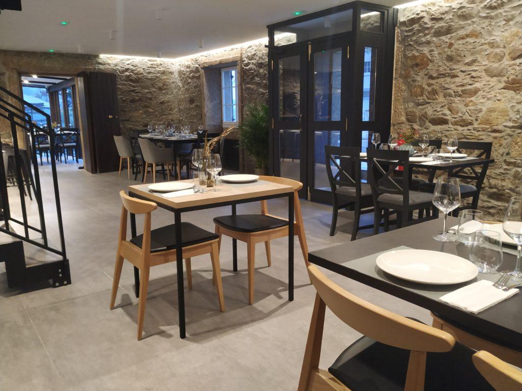 O Xardín de Anceis - Interior 01 - Restaurante Cambre Coruña